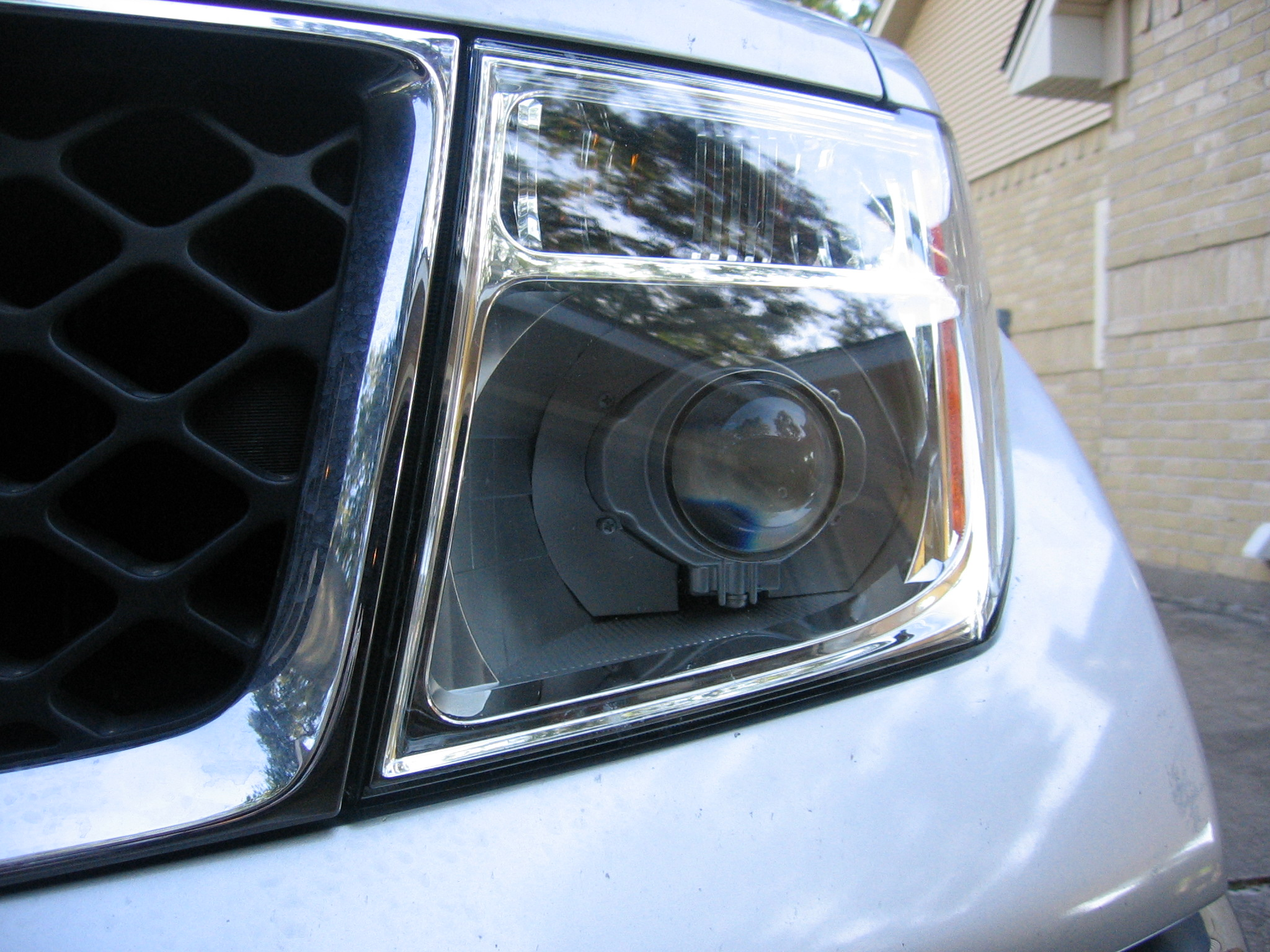 Same headlights but on frontiers