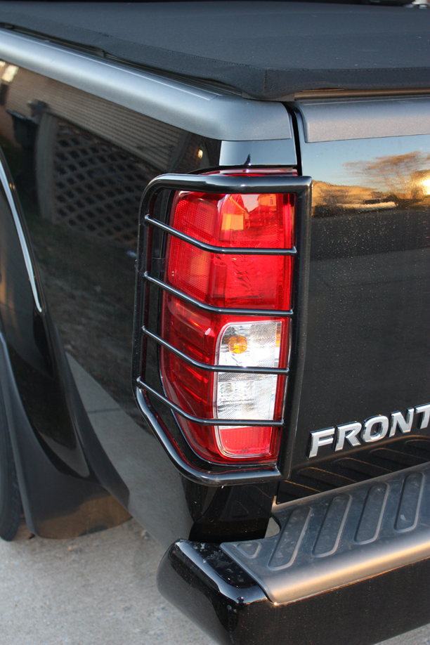 D Fs Nissan Frontier Tail Light Guards Black Img on nissan an starter location