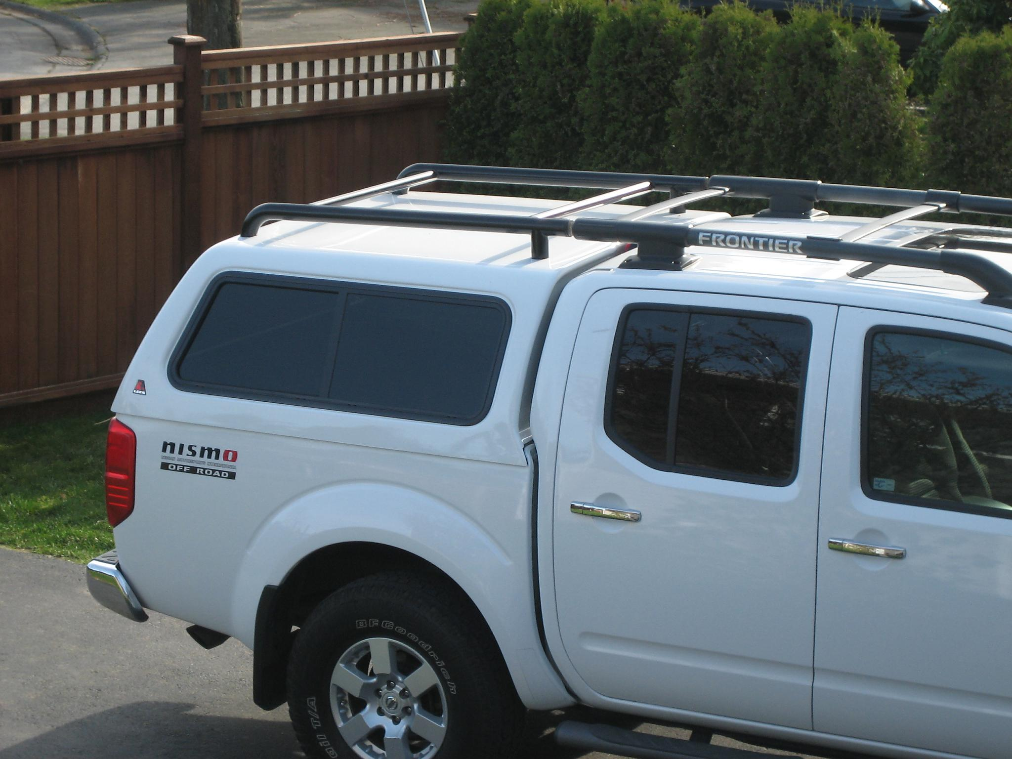 roof rack for camper shell nissan frontier forum. Black Bedroom Furniture Sets. Home Design Ideas