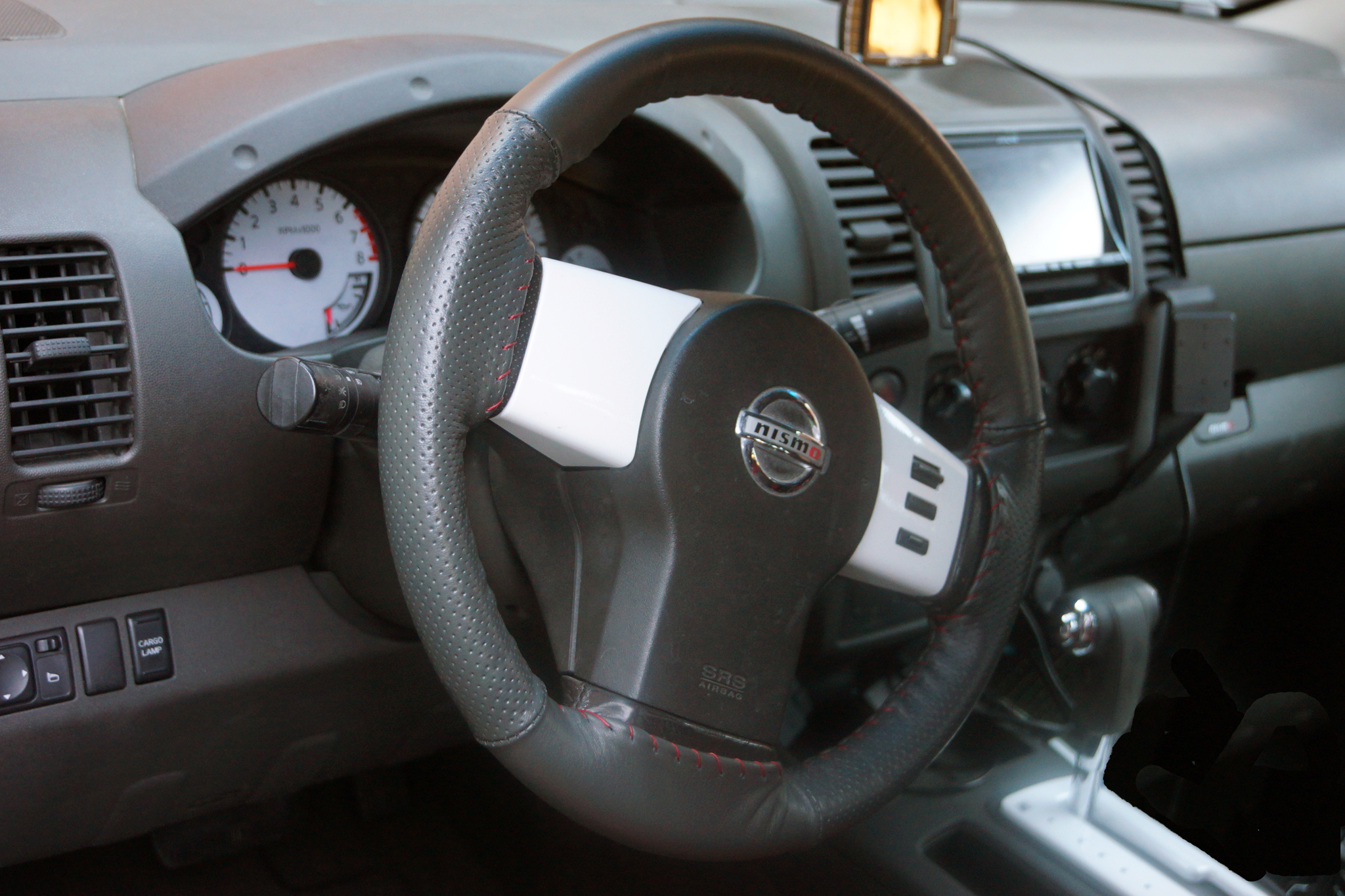 Steering wheel makeover nissan frontier forum click image for larger version name intg views 1065 size 171 vanachro Choice Image