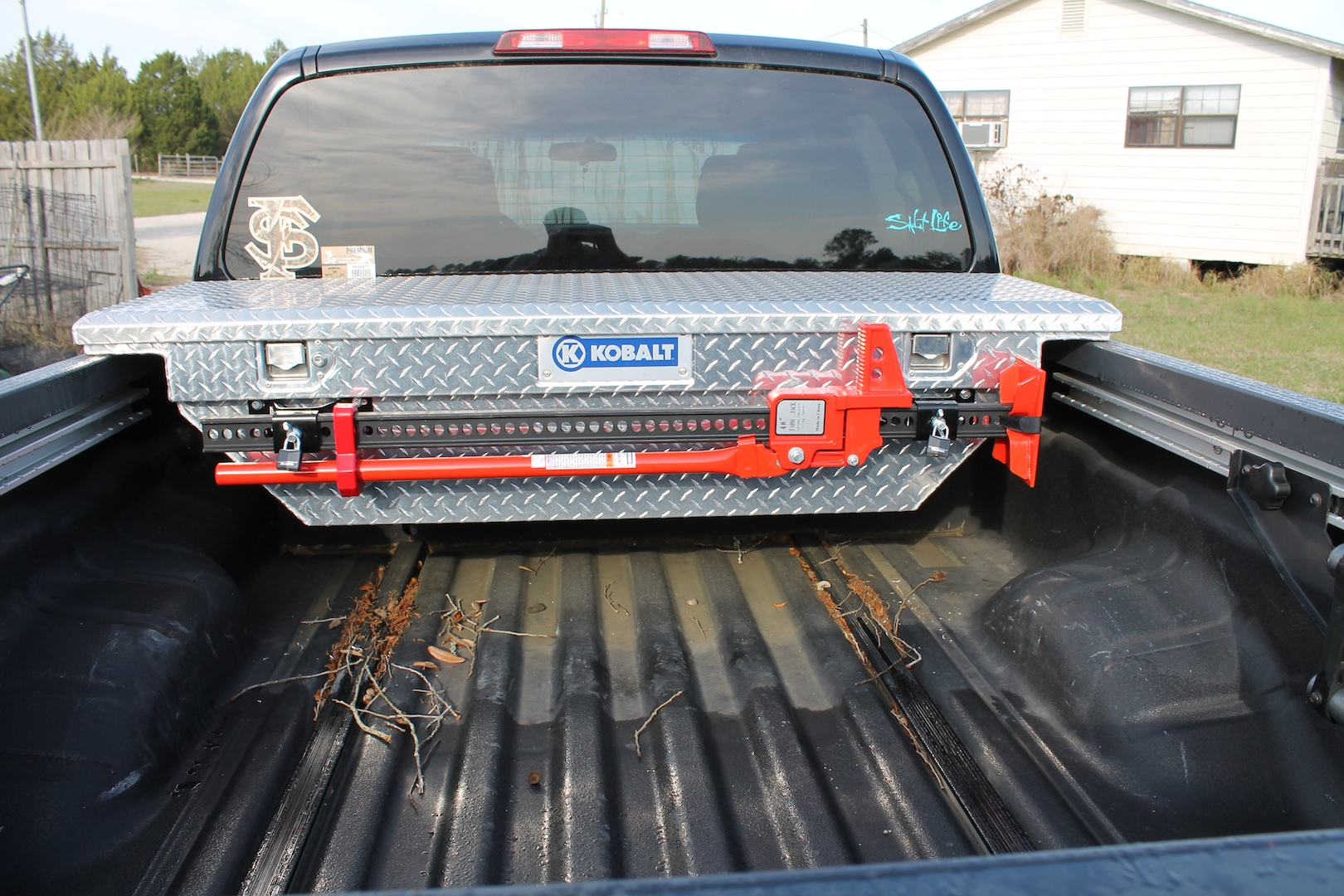 Truck Bed Tool Box Mods