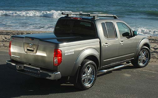 hard bed cover for nissan frontier 1