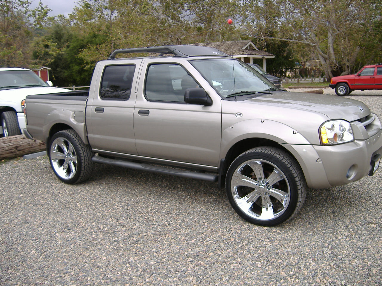 finally got dubs 03 fronty nissan frontier forum. Black Bedroom Furniture Sets. Home Design Ideas