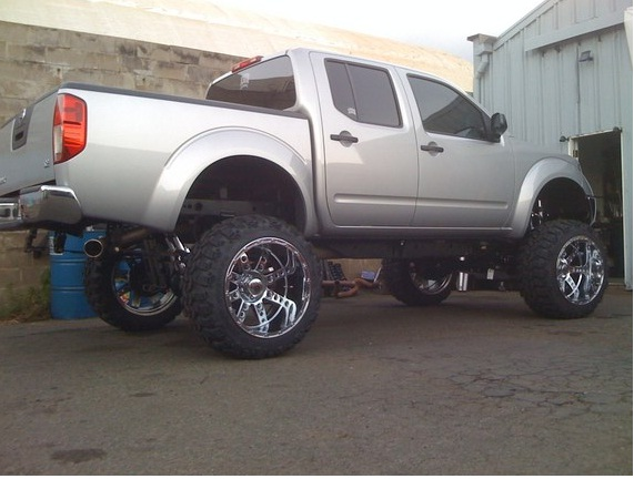 Whos Frontier Is Lifted 8 Page 2 Nissan Frontier Forum