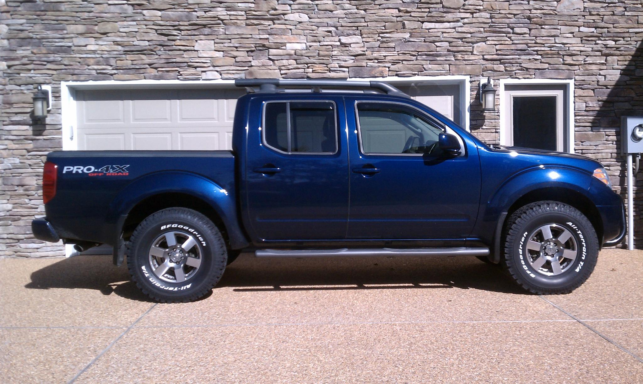 Vehicle Height after PRG leveling kit - Nissan Frontier Forum