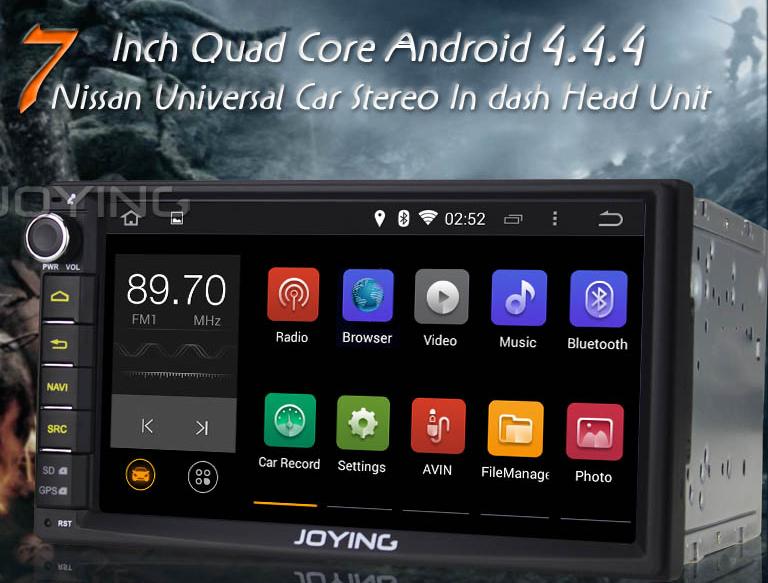 Android head unit joying