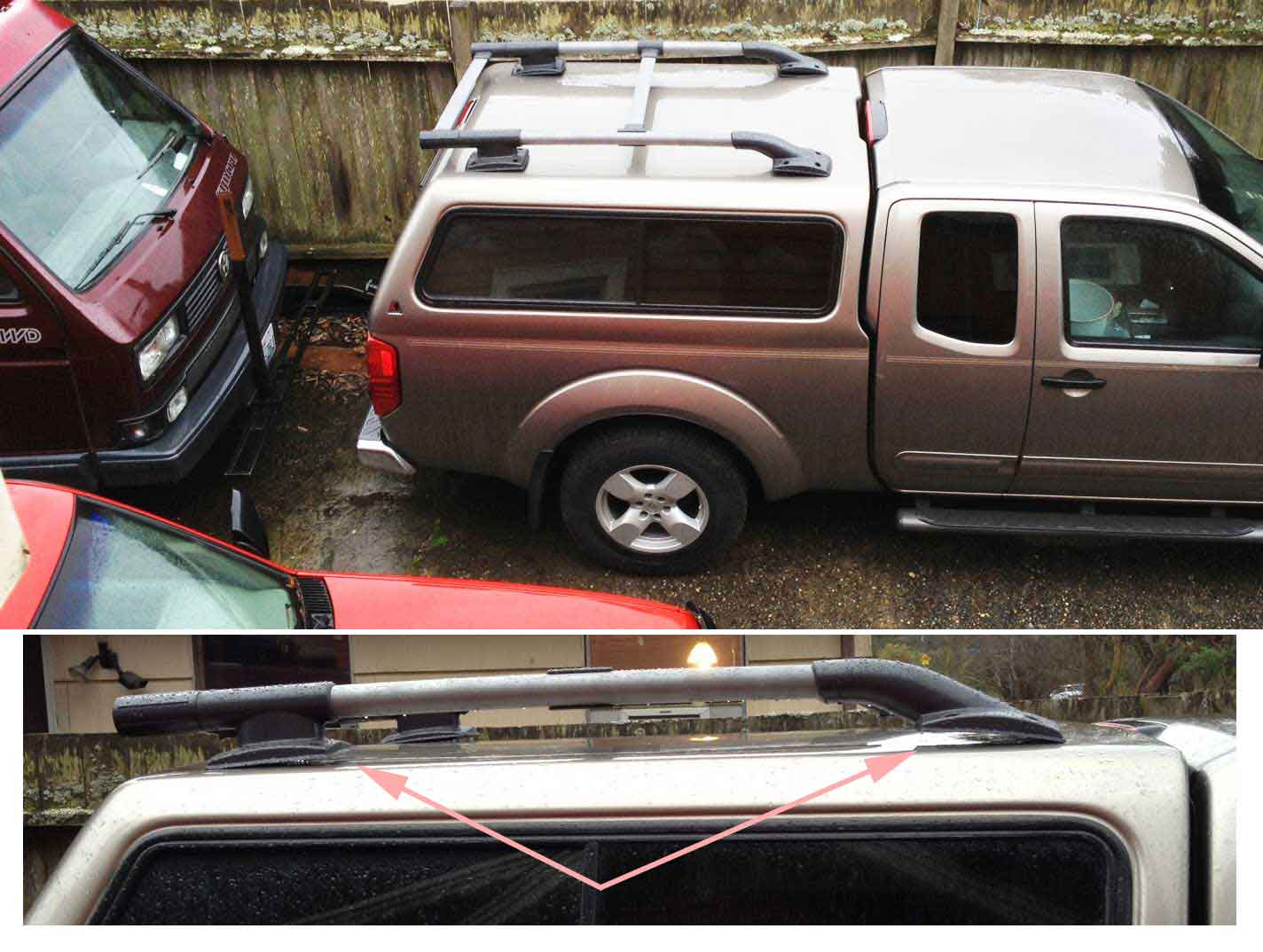 Click image for larger version Name OEM-copy-rack-on-LEER & XTERRA roof rack on a LEER cap (project with PHOTOS) - Page 2 ...