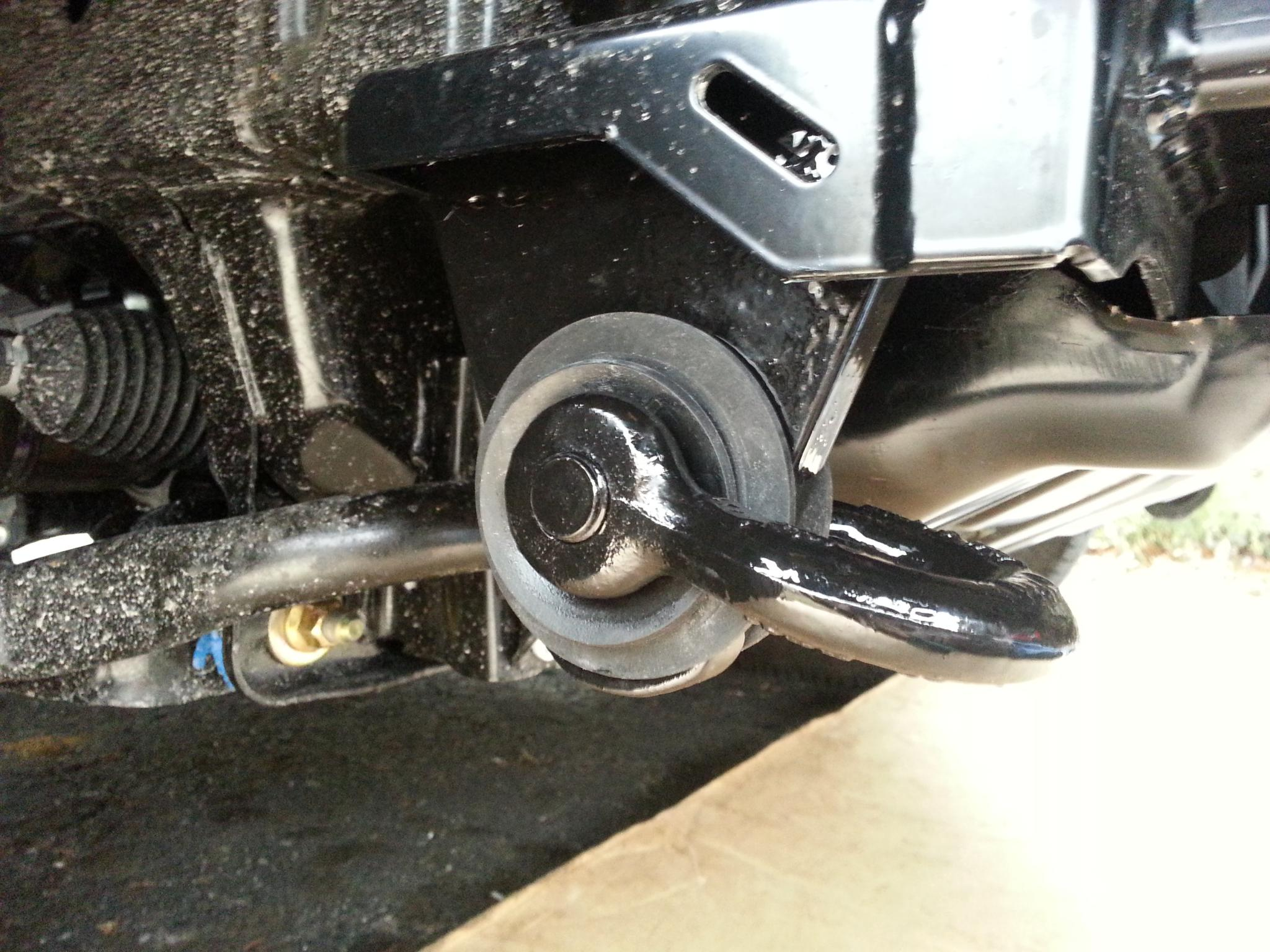 Tow Hooks For Trucks >> B Front Tow Hooks L Or R With Stow Able Shackle B Nissan