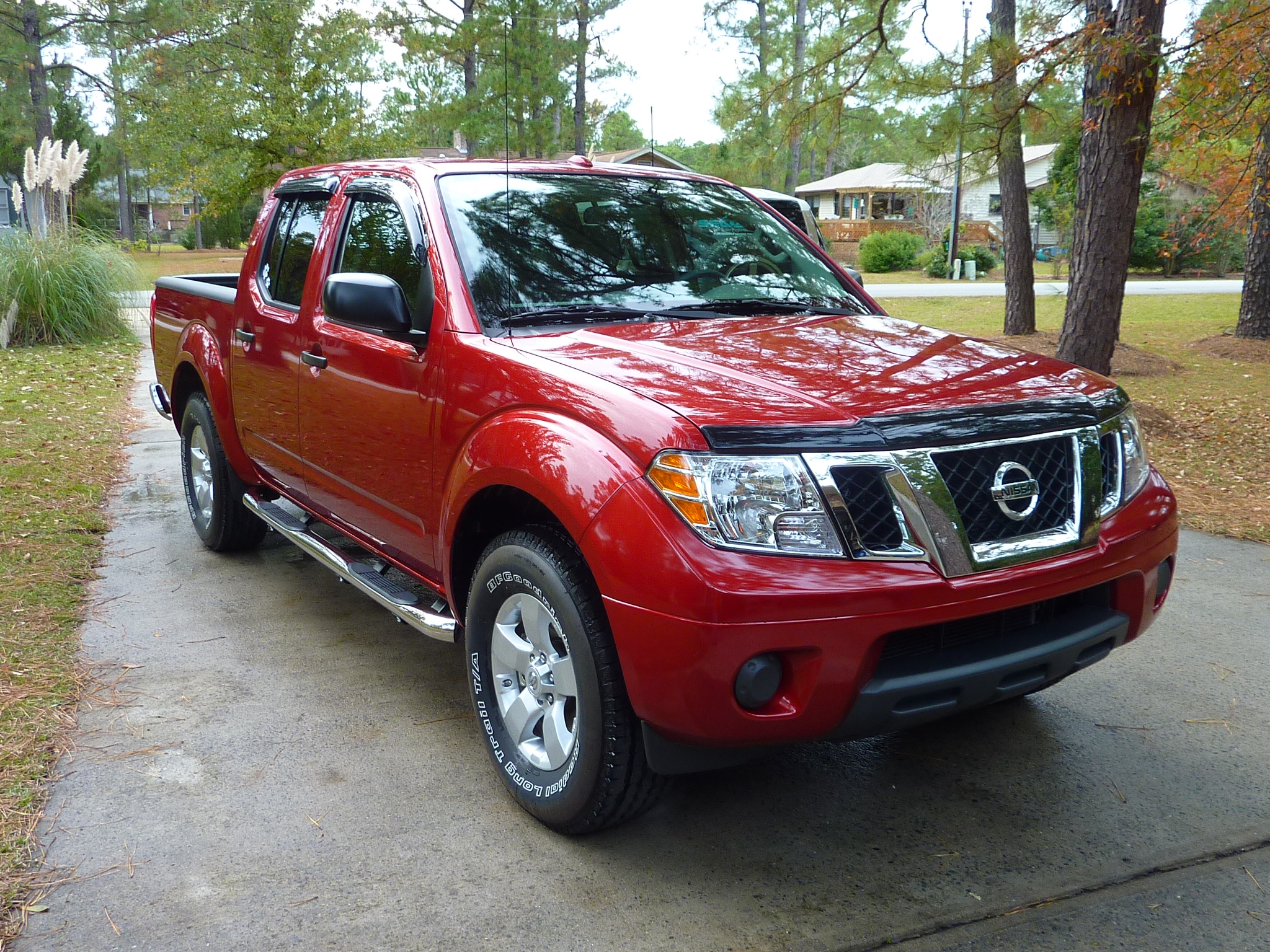 Ionic Stainless side step bars - Nissan Frontier Forum