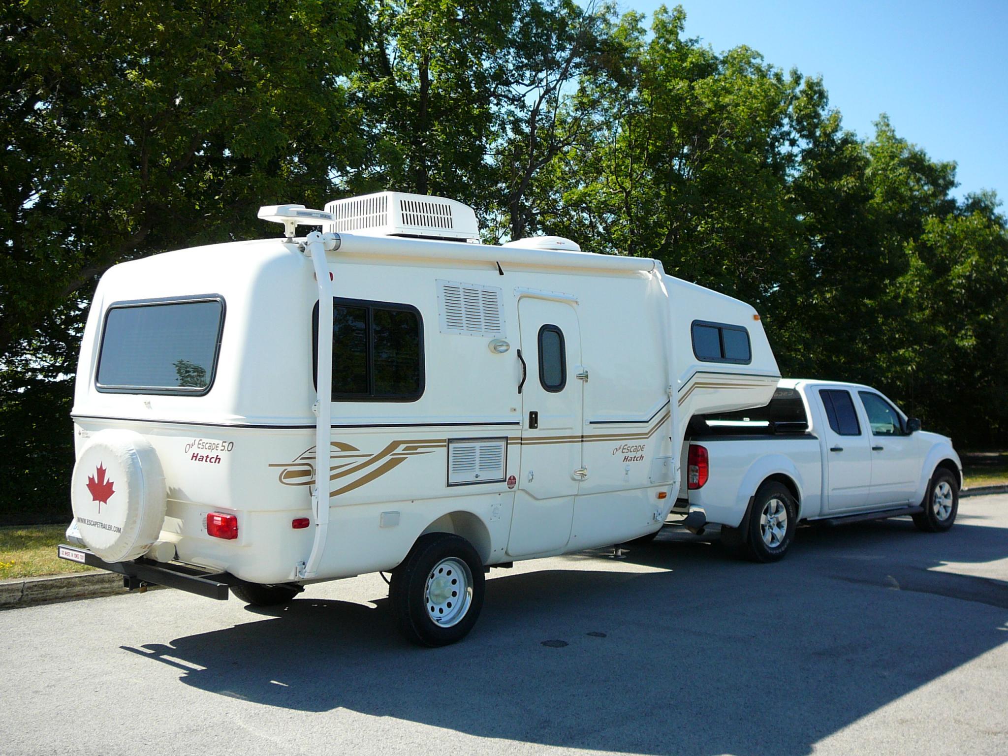 Towing a Popup camper   Nissan Frontier Forum
