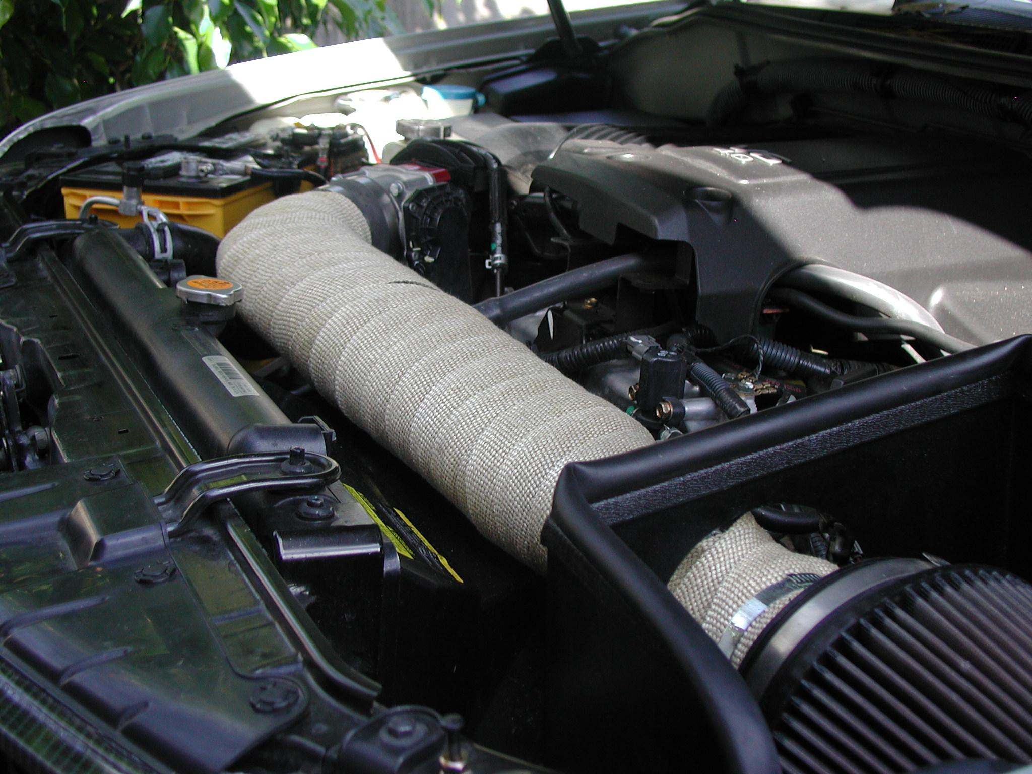 Cai Heat Wrap Nissan Frontier Forum
