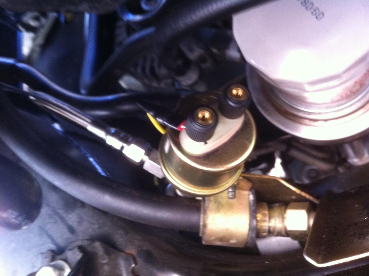 How To (Sort of): Install Aftermarket Oil Pressure Gauge