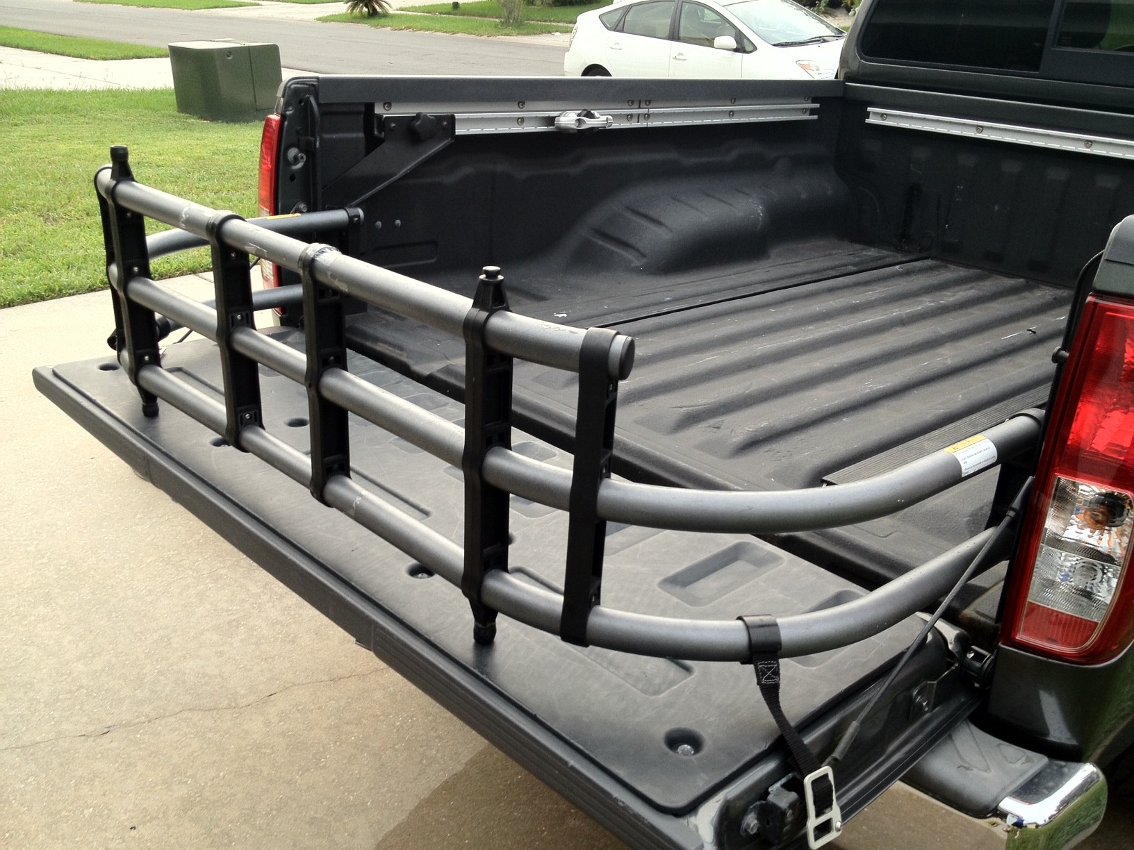 en collapsible truck bed detail big auto princess extender mount a hitch
