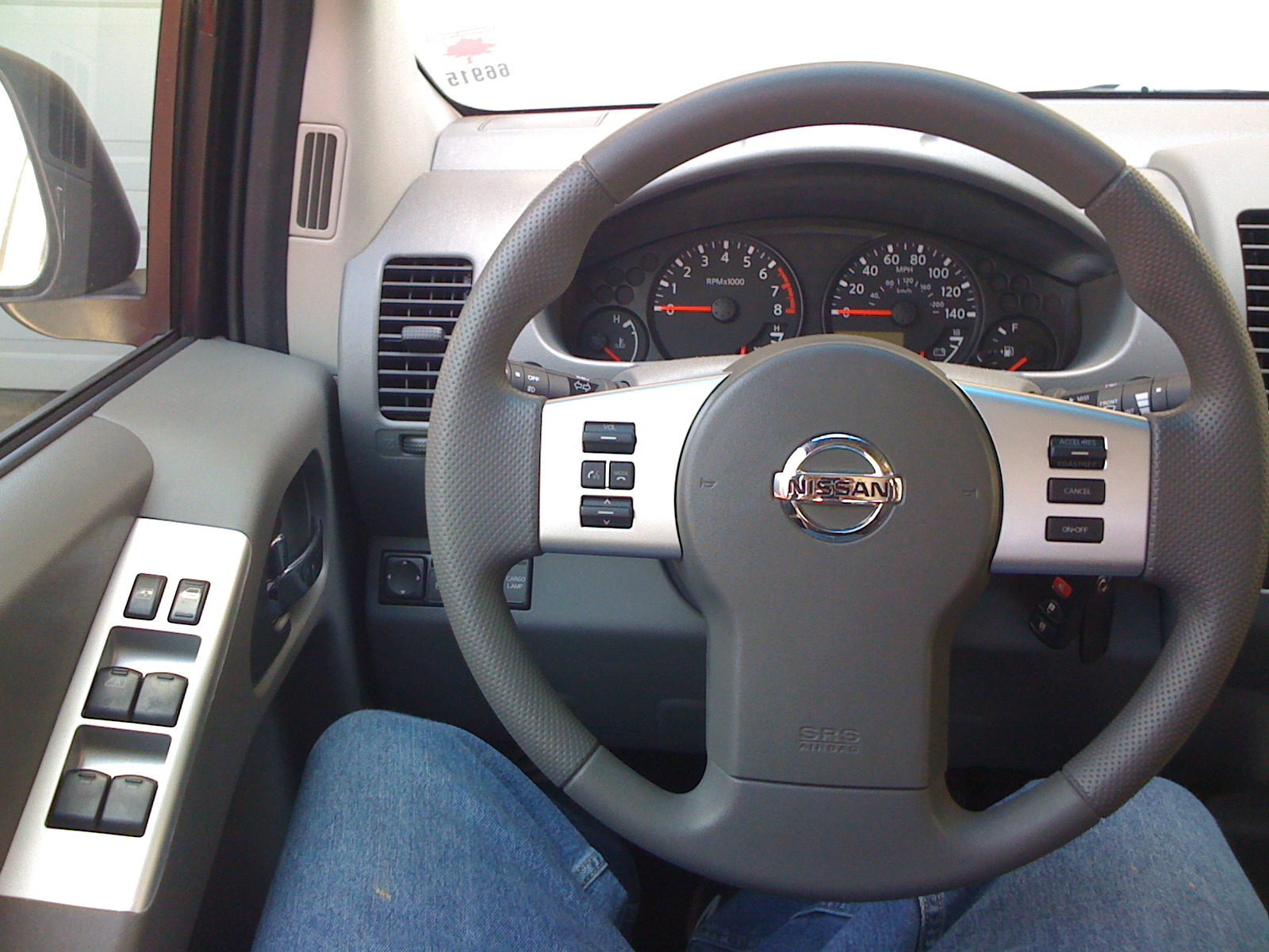 Pathfinder Audio Phone And Cruise Control Steering Wheel Control Installed Nissan Frontier Forum