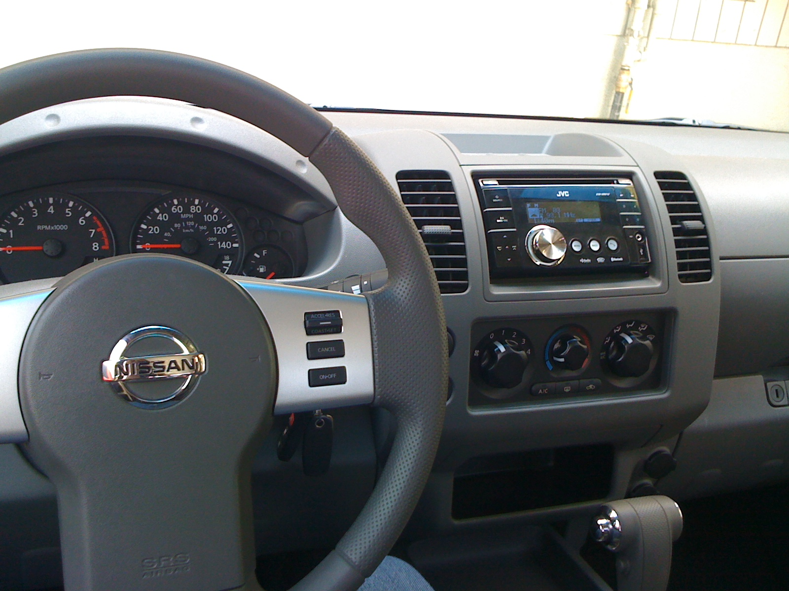 D Pathfinder Audio Phone Cruise Control Steering Wheel Control Installed Picture on Nissan Frontier Radio Wiring Diagram