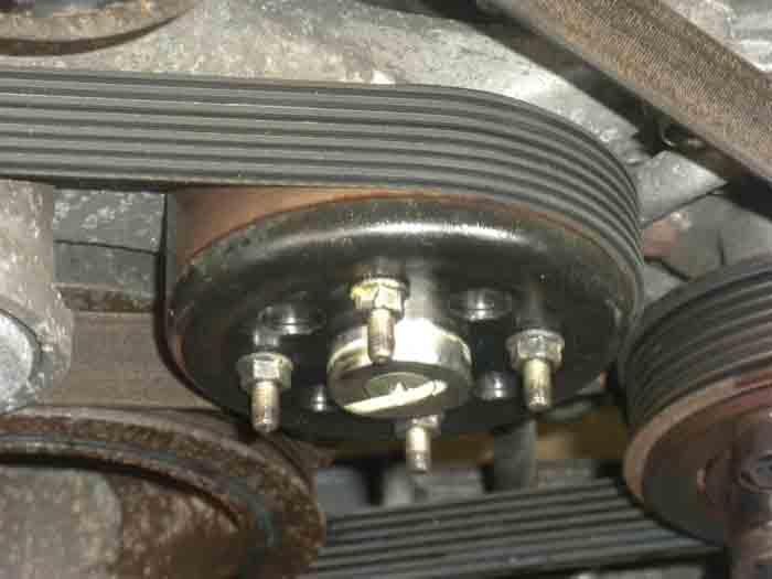 D Replacing Clutch Fan W Electric Fans Pulley Post Fan on Nissan Frontier Fuse Box