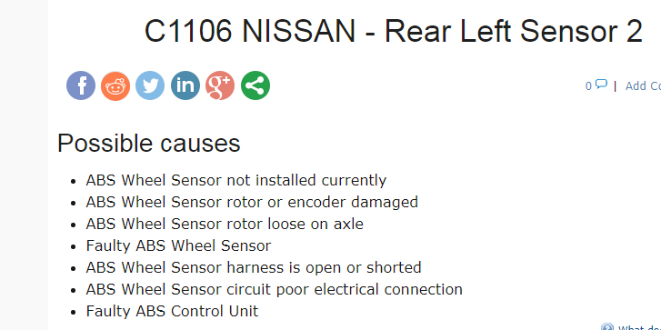 I got it! Code scanner that scans all systems | Nissan