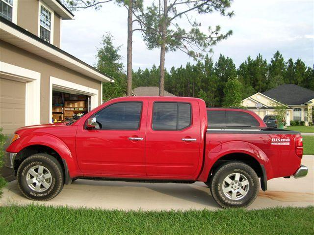 2 5 Leveling Kit With 265 75 16 Nissan Frontier Forum