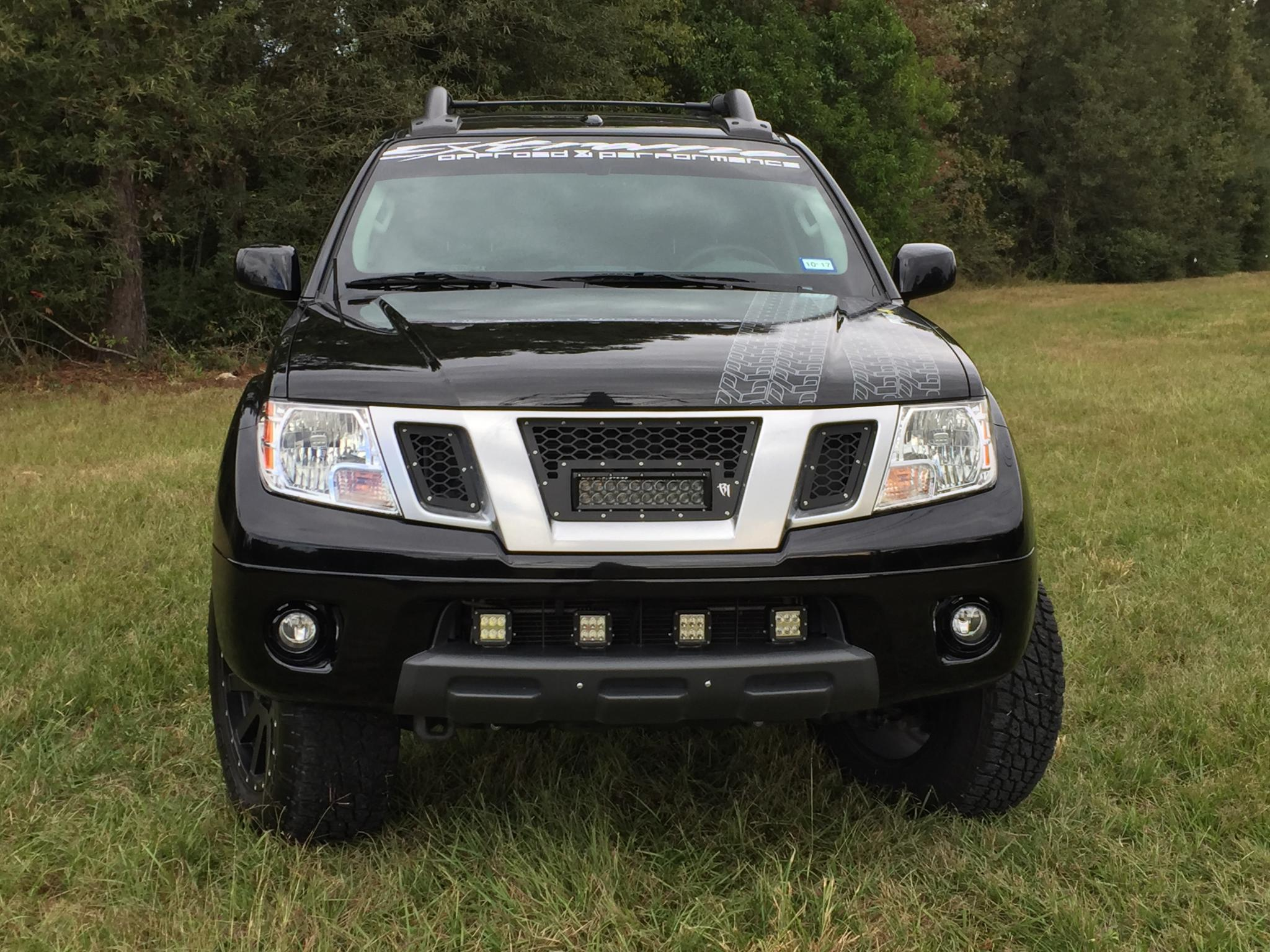Rigid industries replacement grill with light bar mounts nissan click image for larger version name rigid gril 1g views 2302 size aloadofball Images