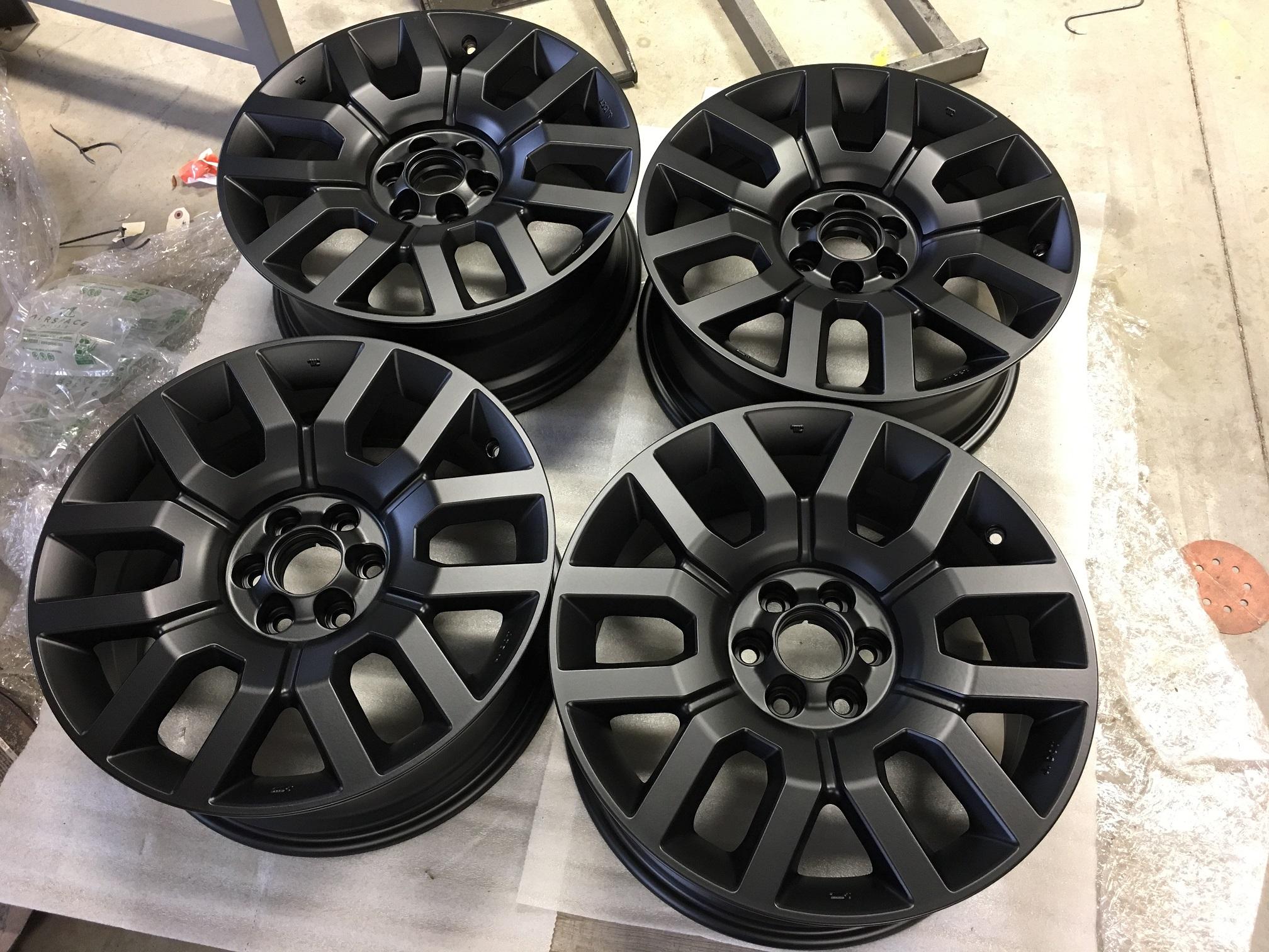 Oem 18 Rims Need Help Choosing Tires Nissan Frontier Forum