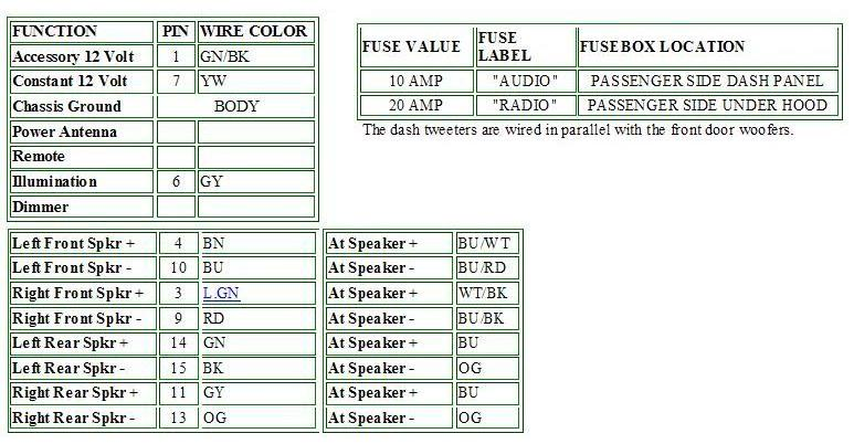 basic speaker install info please nissan frontier forum, electrical diagram, 2010 nissan frontier audio wiring diagram