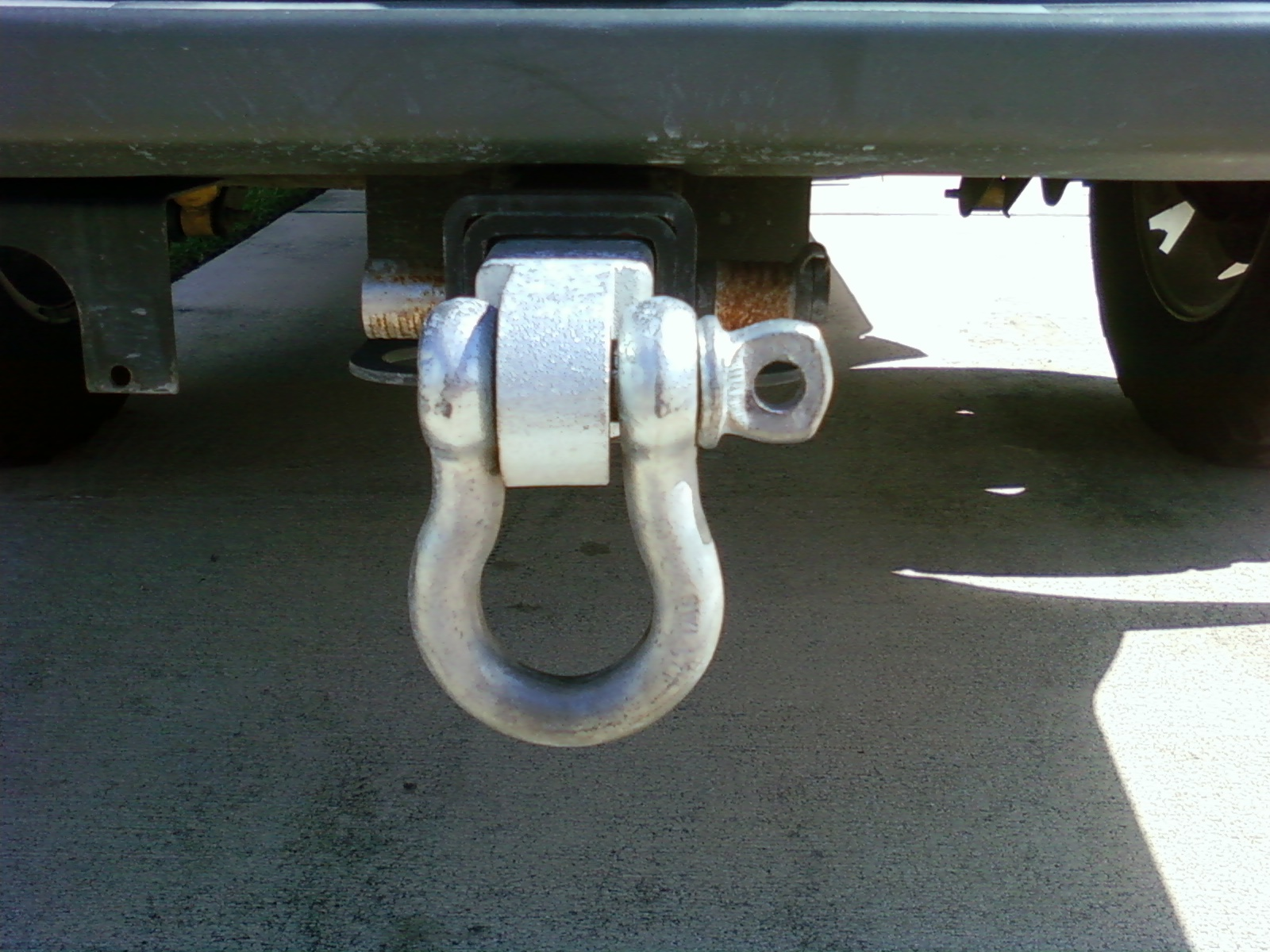 Tow Hooks For Trucks >> So Why Have A Towing Hook Nissan Frontier Forum