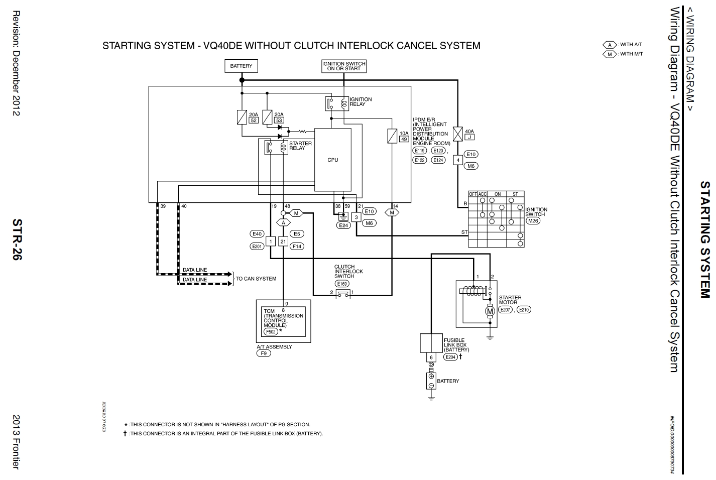 Amazing 2013 Nissan Frontier Wiring Diagram Photos - Electrical ...