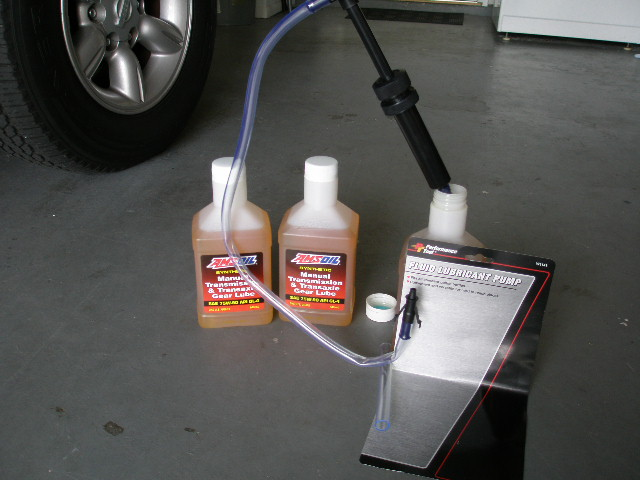 How To Change Your Manual Transmission Gear Oil With Pictures Nissan Frontier Forum