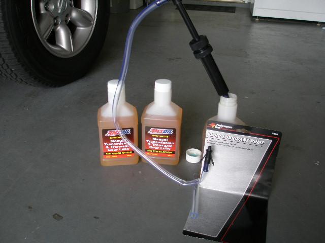 nissan frontier manual transmission fluid