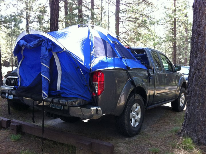 Click image for larger version Name tent1.jpg Views 2739 Size 118.9 & Bed tent - Nissan Frontier Forum
