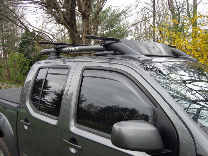 Thule Rack On Oem Nissan Frontier Forum