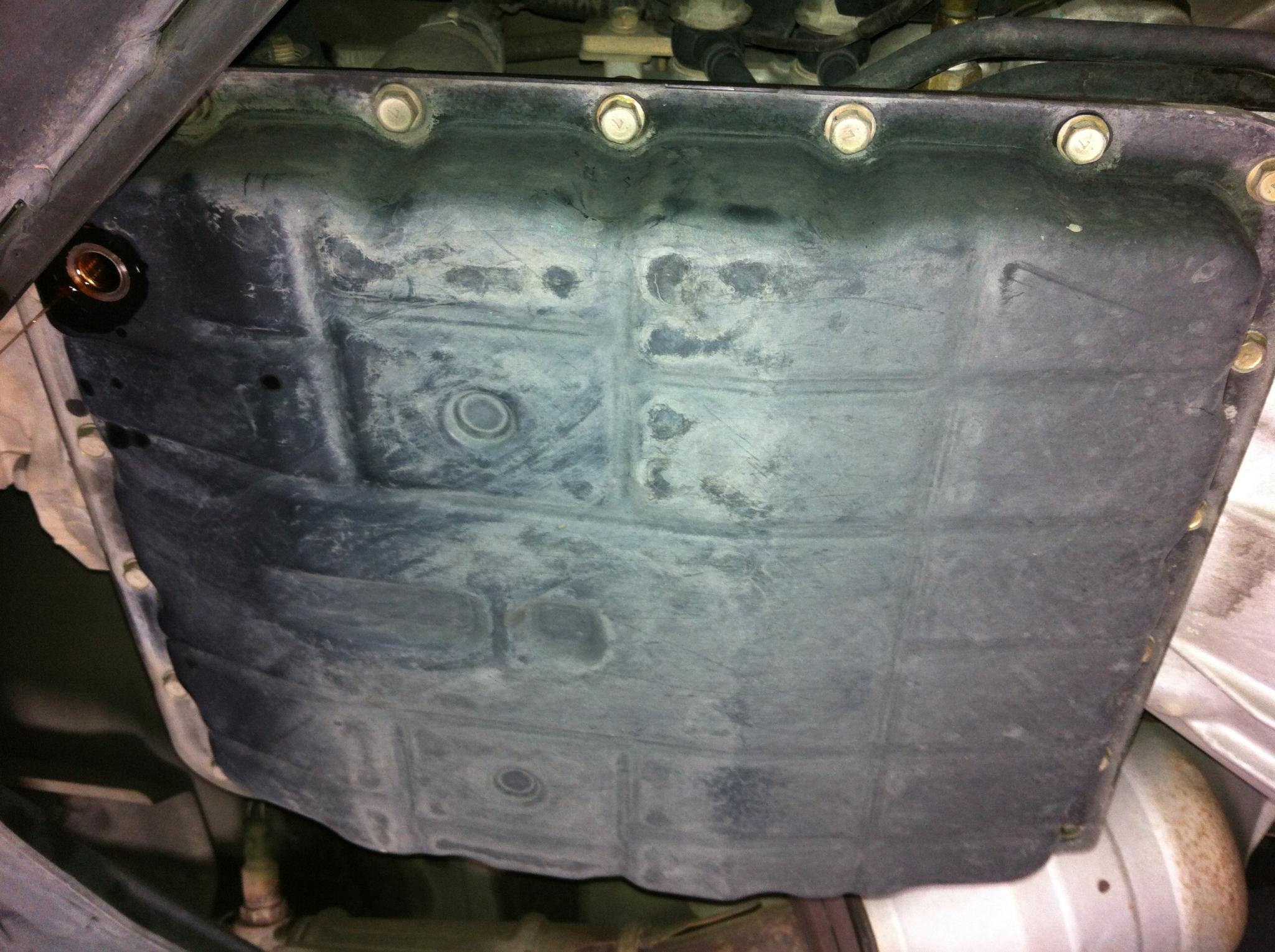 DIY: 2005+ Transmission Pan Removal and Installation - Nissan ...
