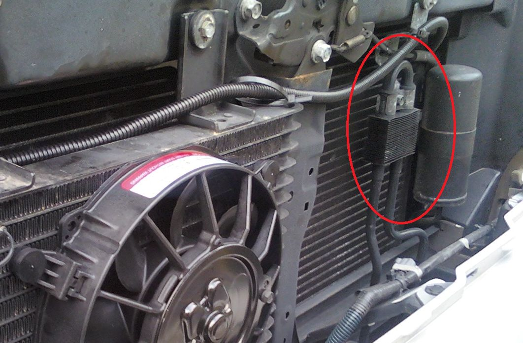 2007 nissan xterra radiator bypass