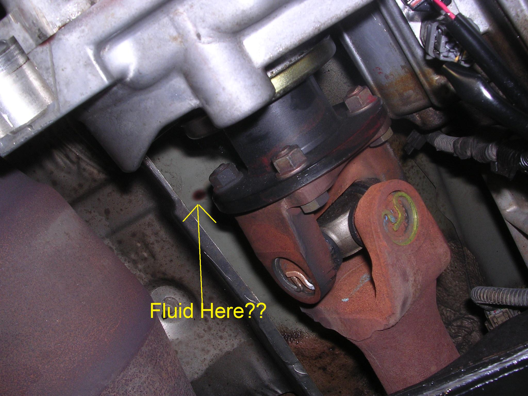 Transfer Case Leak See Pics Nissan Frontier Forum