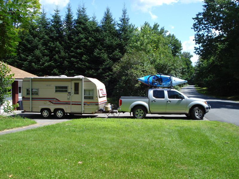 Towing A Camper With A Nissan Frontier