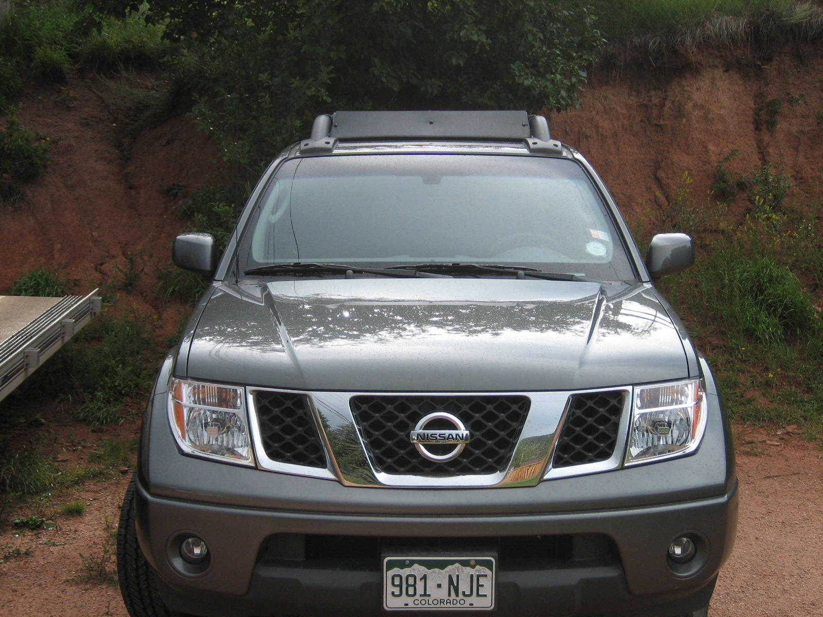 Fairing for factory roof rack? - Nissan Frontier Forum