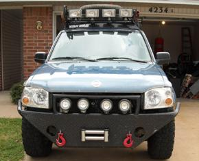 01 kc sc light barroof rack questions nissan frontier forum click image for larger version name truck pics 004 aloadofball Choice Image