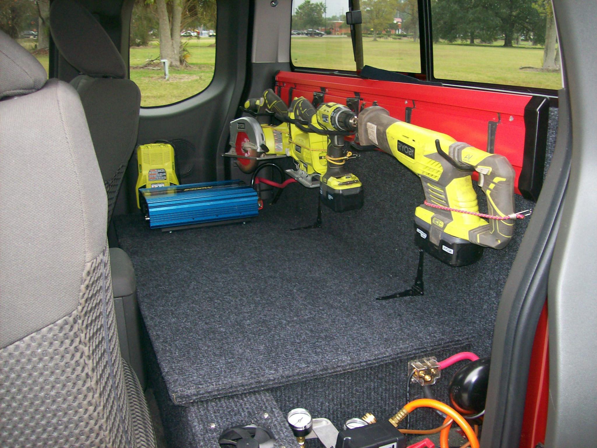 Truck bed storage ideas nissan frontier forum - Truck bed organizer ideas ...