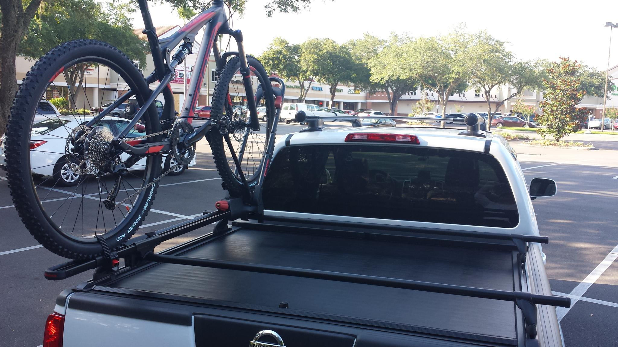 Lock Bike In Truck Bed