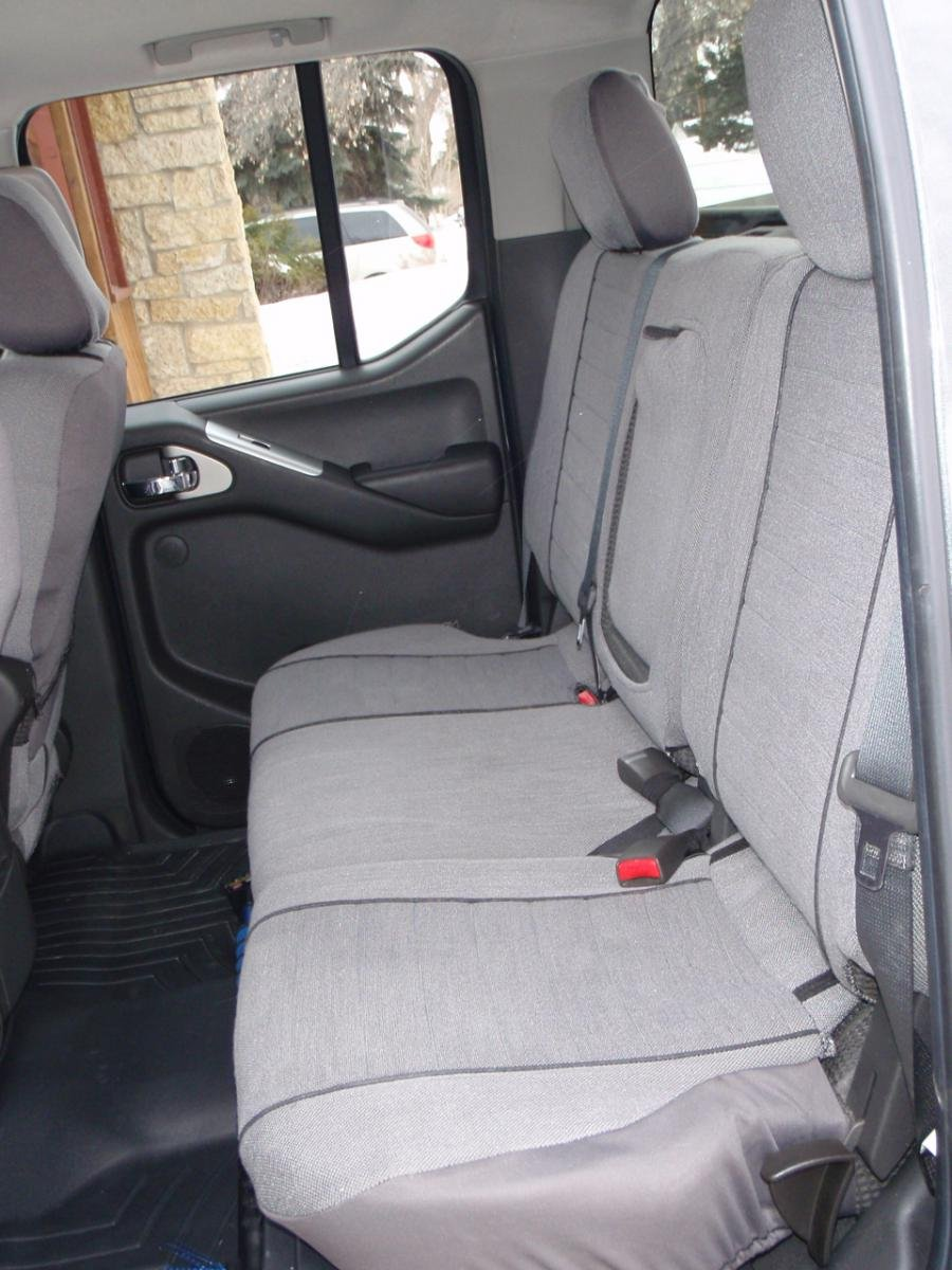 Admirable Coverking Ballistic Rear Seat Covers Nissan Frontier Forum Gmtry Best Dining Table And Chair Ideas Images Gmtryco