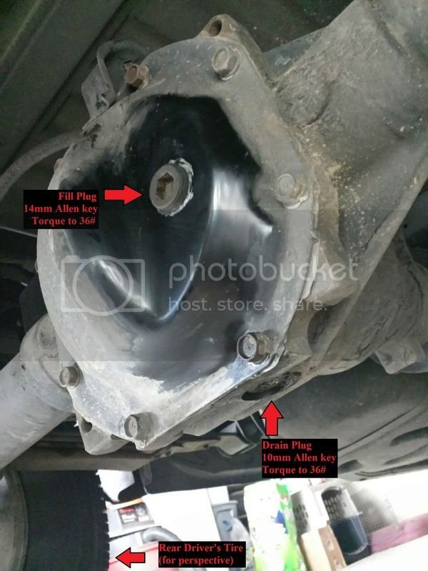 How To: Front + Rear Differential and Transfercase Fluid